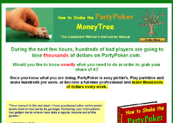 How to Shake the PartyPoker MoneyTree:The Consistent Winner's Instruction Manual