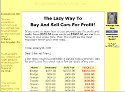 how to buy and sell cars for profit uk