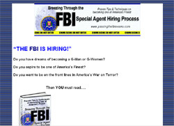 Breezing Through the FBI Special Agent Hiring Process