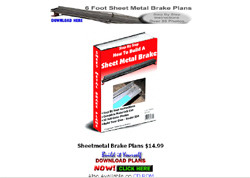 How to Build A Sheet Metal Brake
