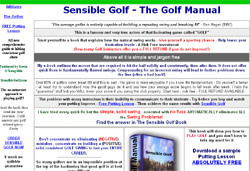 Sensible Golf - The Golf Manual