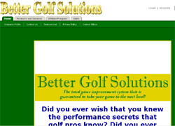 Better Golf Solutions