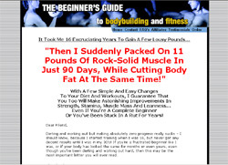 The Beginners Guide to Fitness And Bodybuilding