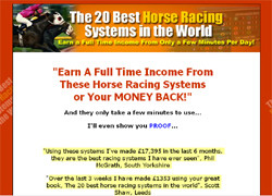 The 20 Best Horse Racing Systems In The World