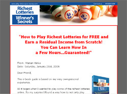 Richest Lotteries Winner's Secrets