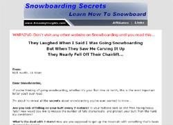 Snowboarding Secrets