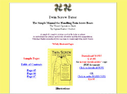 Twin Screw Tutor-The Simple Manual for Handling Twin Screw Boats