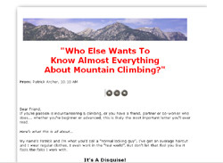 Mountaineering Secrets Revealed