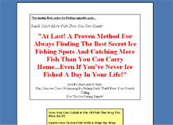 My Ice Fishing Secrets
