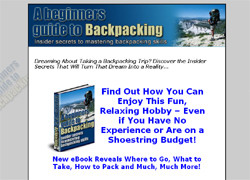A Beginners Guide To Backpacking