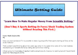 Ultimate Betting Guide