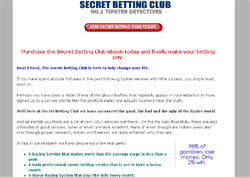 The Secret Betting Club