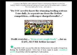 Soccer Star System: Betfair Trading System