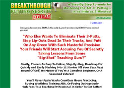 Breakthrough Putting Secrets Revealed