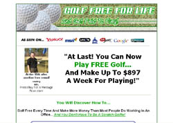 Play Golf Free And Get Paid To Play!