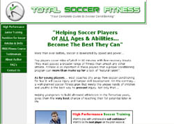 Total Soccer Fitness: The Complete Guide To Soccer Conditioning