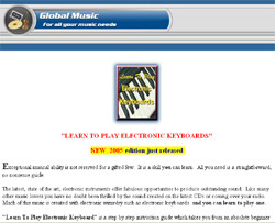 Learn To Play Electronic Keyboards
