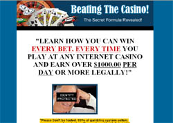 Beating The Casino: The Secret Formula Revealed!