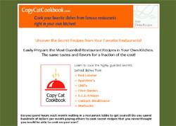 Copycat Cookbook #2