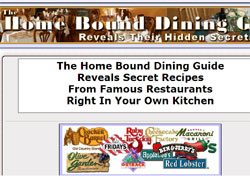Home Bound Dining Guide