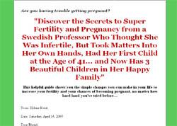 The Fertility Secrets Handbook