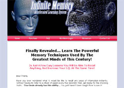 Infinite Memory: Accelerated Learning System