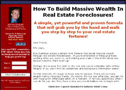 How To Build A Massive Fortune Through Real Estate Foreclosures