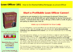 Loan Officer 101 - How to Get Started Selling Mortgages as a Loan Officer