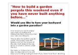 15 Pergola Plans