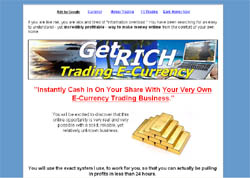 Get Rich Trading E-Currency
