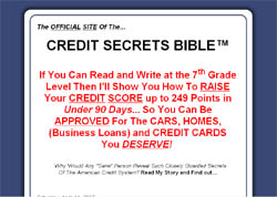 Credit Secrets Bible