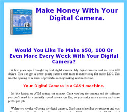 Make Money With Your Digital Camera