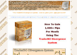 The TraderBO Divergence System