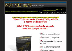 Profitable Trend Forex System