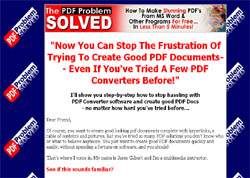 The PDF Problem Solved - Create Stunning PDF's Without Spending A Dime