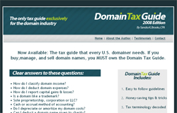 The Domain Tax Guide