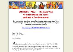 Empress Tarot