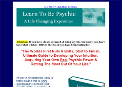 Learn To Uncover The Psychic Within Yourself