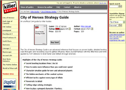 City of Heroes Strategy Guide