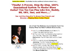 Playing Through The Blues - A Guide for the Lead Guitar Player