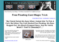 The Free Floating Card