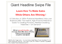 Giant Headline Swipe File