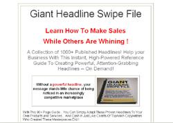 Giant Headline Swipe File
