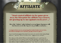 Affiliate Commandments: the Six Figure Rulebook