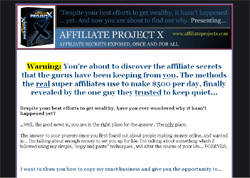 Affiliate Project X - Secrets Exposed