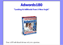 Adwords180: Looking At AdWords From A New Angle