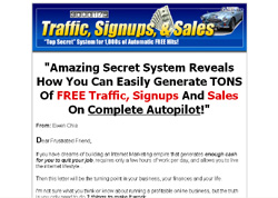 Traffic, Signups, & Sales System