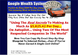 Google Wealth System