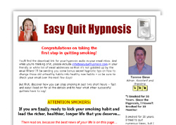 Easy Quit Hypnosis