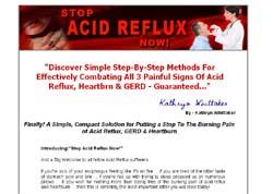 Stop Acid Reflux Now!